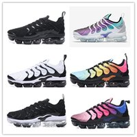 Wholesale free color codes - 2018 New TN olive black and white gold and silver color men's sports shoes, jogging shoes, free delivery shoes code US7-11
