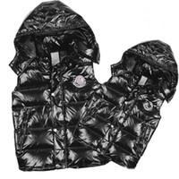gilet la mode des femmes achat en gros de-Mode Classique Marque Hommes Femmes hiver Warm Down Vest Vestes Femmes Casual Down Gilets Manteau Hommes Gilet Taille: S-3XL