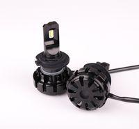 Wholesale H7 Led Headlight Cree - 36W pcs 6500K H7 LED Car Headlights H1 H3 H4 H7 9005 9006 12000lm Bulbs CREE Chips Auto Front Lamps K7