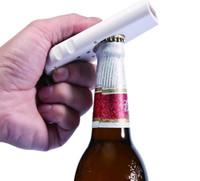 garrafas da corrente chave venda por atacado-Atacado melhor preço Garrafa Abertura Criativo Plástico Ejeição Abridor de Garrafas de Cerveja Ferramenta de Cozinha com Fontes Do Partido Chave Corrente Handy