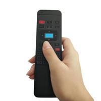 18 téléviseurs achat en gros de-Souris Raton Nouveau Clavier Sans Fil RGB 2.4GHz Télécommande Qwerty Fly Air Mouse pour Smart TV À partir de 18 €