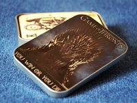série de jogos de cartão venda por atacado-HBO série de TV Game of Thrones poker jogando cartas canção de fogo e produtos derivados de gelo novidade poker presente