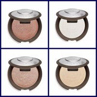 Wholesale face powder pearls - HOTTEST Becca Moonstone Opal Rose Gold Pearl Face Powder Brighten Shimmering Skin Perfector Pressed 4 Colors Bare Face Makeup Palette
