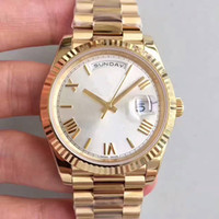 Wholesale variety steel - 2018 Classical 40mm High Quality Daydate Watch with Variety of Color Available