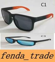 Wholesale Multi Color Pictures - Brand TR90 Picture frame 2018 NEW man women brand sunglasses Designer 9102 Holbrook High quality polarizedlens sunglasses color11 MOQ=5