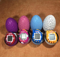 NEW Toy with a keychain EDC Multi-color Cartoon Surprise Egg Electronic Pet Mini Hand-hold Game Machine, a Gifts Toy WJ 003