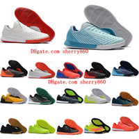 Wholesale cheap original cleats online - 2018 MagistaX Finale II IC indoor soccer shoes magista x futsal men cheap magista obra soccer cleats original football boots Mens