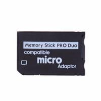 ms pro reader venda por atacado-Micro SD para Memory Stick Pro Duo Adaptador MicroSD TF Conversor Compatível Micro SDHC para MS PRO Duo Leitor de Memory Stick para Sony PSP 1000 2000