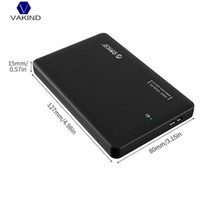 Wholesale Ssd External Hard Drives - VAKIND USB3.0 To SATA HDD SSD External Enclosure Box Disk Case 1T With USB Cable For 2.5 inch Hard Disk Drive