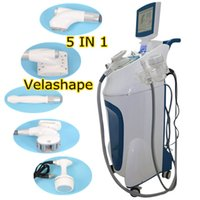 Wholesale roller stand - 2018 New standing velashape slimming machine velashape infrared rf roller massage Vacuum Machine Velashape body shaping vacuum cavitation