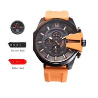 наручные часы japan movt оптовых-Модельер ААА роскошные мужские часы DZ Марка повседневная мужчины спортивные часы Япония кварцевые movt наручные часы мужской relojes