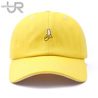 De alta calidad de algodón bordado de frutas cap snapback aguacate plátano  uva melocotón gorra de béisbol para hombres mujeres hip hop papá sombrero  regalos f7ac591db73