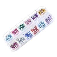 diamants acryliques achat en gros de-Sparkly Nail Strass Nail Art Cristaux Diamants Stones Bijoux Charms Gems 3D Nails Décorations Acrylique Nails Chaussures Artisanat