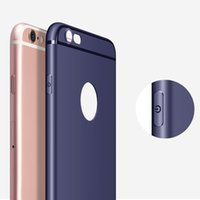 Wholesale Wholesale Cell Phone Smart Covers - For iPhone X 8 7 6 Plus 6s Soft TPU Case 0.8mm 360 Full Cover Protection Matte Smart Cell Phone Shell Cases