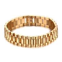 ingrosso braccialetti mescolano inossidabili-ordine misto del regalo di giorno di San Valentino * braccialetti 201 della cinghia di polso dei monili di modo dei braccialetti del braccialetto di progettazione del cinturino dell'acciaio inossidabile brand new