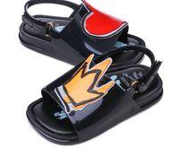 Wholesale pvc jelly sandals kids for sale - Melissa Crown and Red Heart Mini Sandals New Summer Boys Sandalsgirls Sandals Jelly Shoe Girl Non slip Kids Sandal Toddler