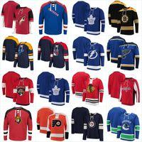 hokey hoodie montreal toptan satış-Hoodies New York Rangers Adalar Los Angeles Kings Minnesota Vahşi Hiçbir Şapka Kazak Montreal Canadiens New Jersey Devils Hokey Formalar