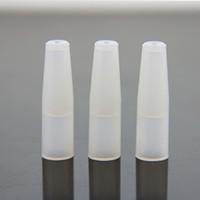 ce4 deckt großhandel-Einzelnverpackendes Silikon-Tropfenfänger-Mundstück-Abdeckungs-Test-Tropfen-Tipps für die Raucher, die CE4 CE5 CE6 EVOD DCT EGO 510 Atomizer prüfen