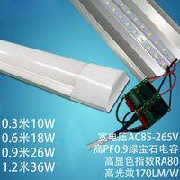 26w führte rohr großhandel-40x neue LED Reinigung Leuchte 2FT 3FT 4FT 18W 26W 36W LED-Oberfläche montiert Deckenleuchten ersetzen T5 / T8 Tube Light