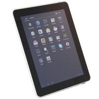 9,7 dual-kamera-tablette großhandel-9,7 Zoll Android 4,4 kleiner Computer-Tablette-PC WIFI Tablets-PC WiFi FM Viererkabelkern Doppelkamera 16GB UK-Stecker