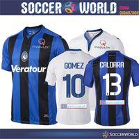Wholesale Bc Black - Atalanta soccer jersey Atalanta BC Gomez Papu Cristante Cornelius Petagna Caldara Football Shirts Calcio MAGLIA football shirts