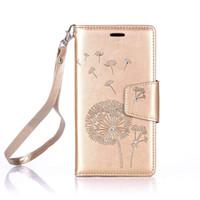 carteras estilo bling al por mayor-YunRT Lujo Elegante Retro Bling Brillante Brillante Diseño de Diamante Estilo Libro de cuero Magetic Wallet Flip con correa de cuerda para Samsung Galaxy J3