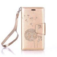 bling stil brieftaschen großhandel-YunRT Luxus Elegante Retro Bling Glänzende Glitter Diamant Design Buch Stil Leder Magetic Brieftasche Flip mit Seil Strap für Samsung Galaxy J3