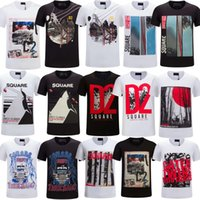 Wholesale Anime Appliques - ICON brand NEW 2018 New Fashion Letters T-shirts Men Cartoon Anime T Shirt O Neck Short Sleeve Tops Cotton T-shirt Boy Funny Tshirt