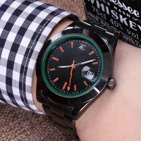 relógios de pulso venda por atacado-40 MM Ray agulha 2018 New Hot Mens Relógios Top Marca de Luxo Homens Relógio de Aço Completa de Negócios À Prova D 'Água Esporte Relógios Relogio
