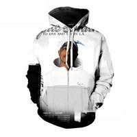 camisetas tupac al por mayor-Nueva moda verano hip hop camisetas rap star tupac / 2pac camiseta impresa 3D hombre mujer sudaderas mujer / hombre jerseys TS53
