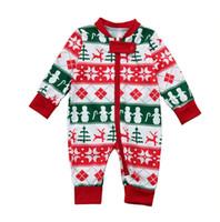 conjuntos de ropa de padre hijo al por mayor-Navidad Retro Family Matching Clothes Familia Pijamas Conjuntos de ropa Father Son Matching Clothes Madre hija Elk Homewears