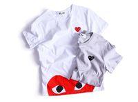 Wholesale play clothes for sale - 2018 plays t shirt fashion cotton Hip Hop kanye west fashion tees Version brand Clothing men women t shirt