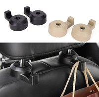 Wholesale car sales organizer - Universal Car Suv Seat Back Hanger Organizer Hook Headrest Holder Backrest hook for automobile hot sale
