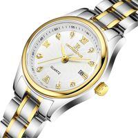Wholesale watch female mechanical - Luxury Women Automatic Watch Diamond Designer Fashion Mechanical Wristwatch Stainless Steel Waterproof Female Business Clock Watches Box