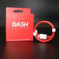 beweglicher schlag großhandel-Portable Original 5V / 4A Dash Ladekabel Typ-C Kabel Reise Netzteil Datenkabel USB-C Ladegerät für OnePlus Mobiltelefone