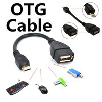 Wholesale data for cell phones online – OTG Cable Mini Micro USB Male to USB Female OTG Adapter Cable For Android Cell Smart Phone Samsung Tablet PC A10 VIA Rk Sony MP3 MP4