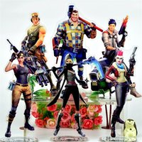 Wholesale games stands - Abstract The Fortress Night Fortnite Game Perimeter Acrylic Human Form Standing Card Erect Drawing Collection Ornament Gift 18tk bb
