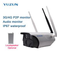 câmera sem fio gsm venda por atacado-3g 4g gsm lte slot para cartão sim câmera de segurança ip IP67 bala ao ar livre à prova d 'água câmera de cctv sem fio WiFi câmera de vigilância de boa qualidade