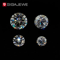 Wholesale GH Color Round Cut Moissanite Loose Gemstone Charms Beads mm mm For Jewelry Making Fashion Girlfriend Gift