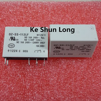 Free shipping lot (5 pieces lot) original New TE OEG OZ-SS-112LF 8PINS 16A 12VDC Power Relay