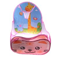 Wholesale children ball tent online - ZTOYL High Quality Foldable Children Kid Ocean Ball Pool Indoor Outdoor Play House Ball Pool Play Tent Toys For Children Gift