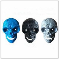 Wholesale wholesale bottle opener mount - Skull Wall Mounted Opener Retro Cast Iron Beer Bottle Openers Can Fixed With 2pcs Screw Creative Kitchen Bar Open Bottle Tool CCA9089 60pcs