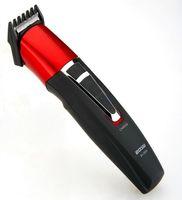 aparador de bigodes venda por atacado-Shaver elétrico Navalha Beard Clipper cabelo Trimmer Grooming cortador de precisão bigode haircutter groomer corpo de homens recarregável 220v