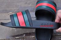 Wholesale Men Eva Sandals - 2017 Hot sale sandals men huaraches flip flops slippers black white loafers beach slides sandals us size 7-11