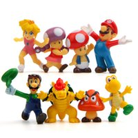 ingrosso yoshi luigi-8 pz / set Super Mario Bros 2