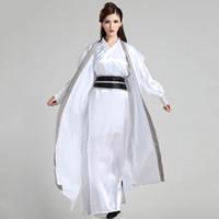 ropa de las mujeres chinas tradicionales al por mayor-Hanfu chino antiguo traje hombres ropa mujeres traje tradicional chino Tang traje oriental vestido tradicional chino hombres