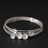 Wholesale Fashion Jewelry Boutiques - fashion designer jewelry 925 sterling silver bracelet charm European boutique Multistorey flower cuff women gift handmade from china