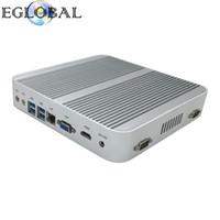 intel hd i5 venda por atacado-Eglobal Mais Novo Mini PC V2-5250U Com Intel Core i5 5250U Max 2.7GHz Intel HD Gráficos 6000 4K HDMI Computador Barato