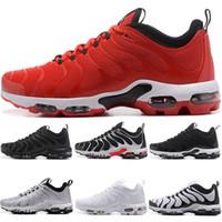 Wholesale ups tuning - 2018 TN Plus Ultra Tuned Running shoes Men Women Designer Sneaker Triple White Black Silver bullet University Red Trainers Sport size 5.5-12