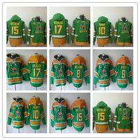 ecbfcee58ec Men s Anaheim Ducks Jerseys Hoodie Hockey 8 Teemu Selanne 9 paul kariya 10  corey perry 15 Ryan Getzlaf 17 Kesler Ice Sweatshirt Uniforms